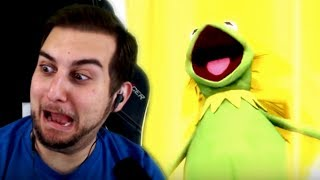 THE LEGENDARY SUPER FROG?! | Kaggy Reacts to Kermit Goes Super Froggy 3 (Super Saiyan 3 Parody)