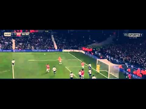 Manchester United vs West Brom 2-2 2014 ~ All Goals & Highlights 20/10/2014