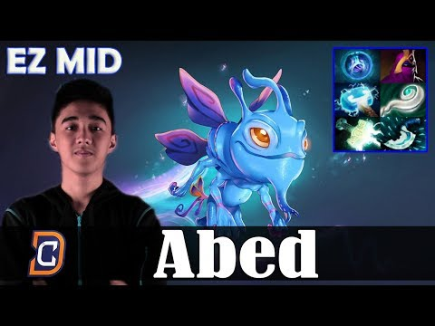 Abed - Puck EZ MID | 7.07 Update Patch Dota 2 Pro MMR  Gameplay