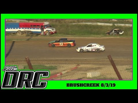 Brushcreek Motorsports Complex | 8/3/19 | The DRC Sport Compacts | Heat 1