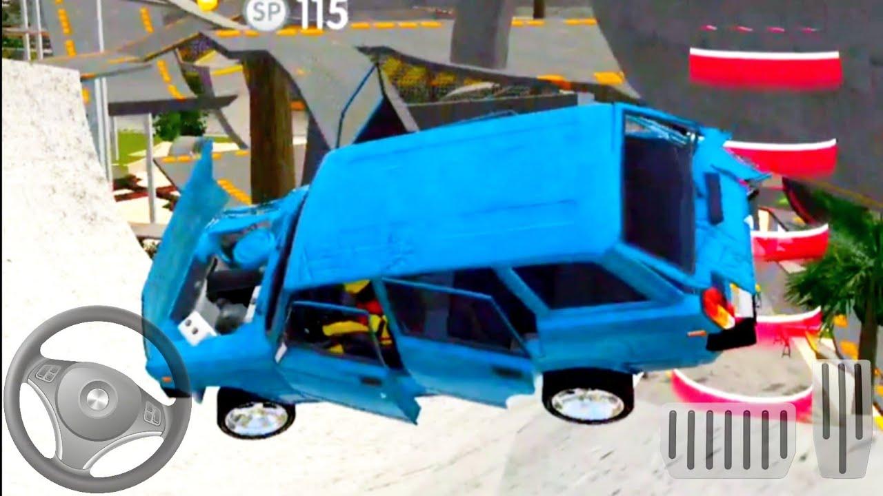 Download Real Car Crash - jeu de voiture gratuit - Android GamePlay