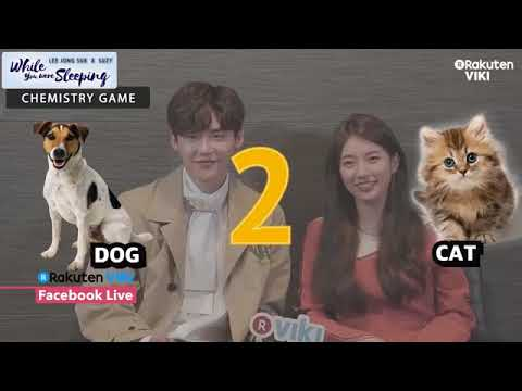 [Engsub] 171027 Suzy & Lee Jong Suk - While You Were Sleeping Interview