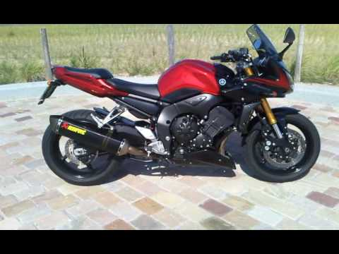 yamaha fz1 fazer 2007 with abs youtube. Black Bedroom Furniture Sets. Home Design Ideas