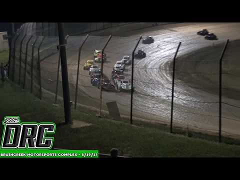 Brushcreek Motorsports Complex | 8/19/17 | Ohio Valley Roofers Legends Car Series | Feature