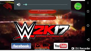 All the  real names of wrestling revolution mod