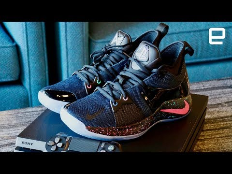 64b567f32fc5 Unboxing the Nike Playstation PG2 Shoes - YouTube