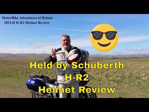 Held H-R2 Helmet review | Held by Schubert | MotorBike Adventures of Britain