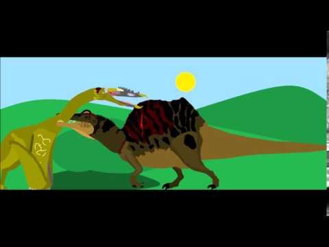 Spinosaurus vs Quetzalcoatlus