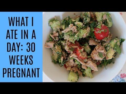 WHAT I ATE IN A DAY 30 WEEKS' PREGNANT | GESTATIONAL DIABETES | MRS RACHEL BRADY