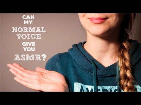 Can My Normal Voice Give You Tingles?