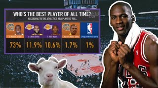 Current NBA Players pick who's the GOAT (Jordan, LeBron, Kobe)
