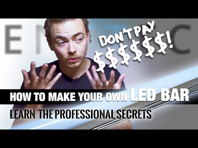 How to make your own LED bar