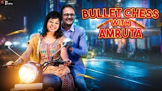 Bullet Chess with Amruta + Commentary by Sagar | No castling chess