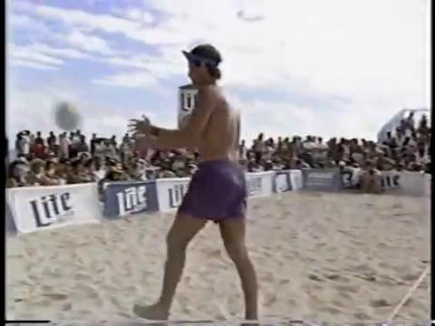 AVP Volleyball 1991 Honolulu Final