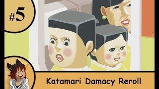 Katamari Damacy Reroll part 5 - A huge guy on the horizon