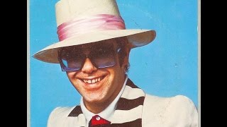 Elton John - Shoulder Holster (1976) With Lyrics!