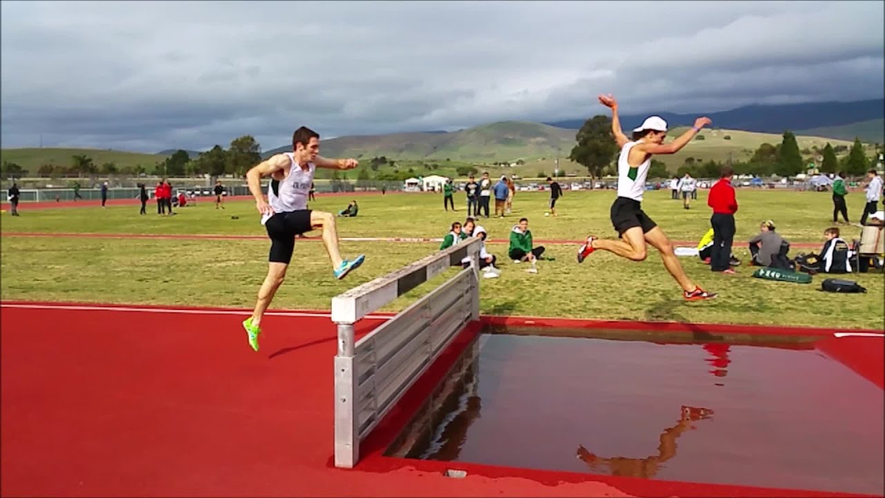 Slow motion steeplechase 2015 slo town track classic for Steeplechase