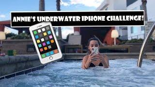 Annie s Underwater iPhone Challenge  WK 372.6 Bratayley