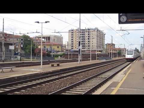 cisalpino ETR.470  transita a Greco Pirelli