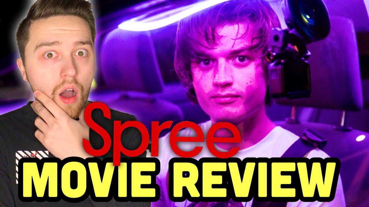 SPREE (2020) - Movie Review   Joe Keery New Movie