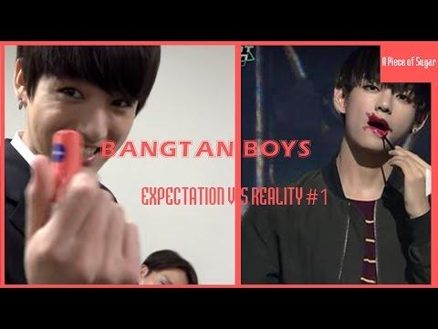 BTS (방탄소년단) - EXPECTATION VS REALITY #1 ft.BozRose