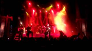 Trivium (Intro from FF7 and Throes of Perdition) SF 2013 Trivium/Devildriver