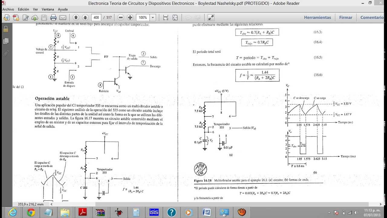 Circuito Astable 555 : Tutorial astable pwm astable motor simulacion proteus youtube