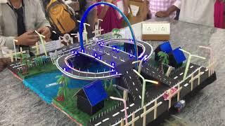 Best latest hydraulic bridge model Civil engineering project for civil engineer. Civil Engg.