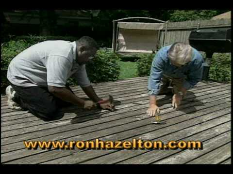 How to Clean and Restore a Weathered Deck