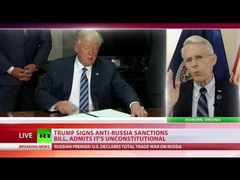 'Trump is forced into trade war' - Virginia State senator Richard Black