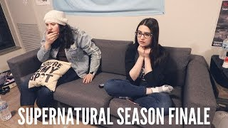 "SUPERNATURAL SEASON 14 FINALE REACTION/REVIEW | 14x20 ""Moriah"""