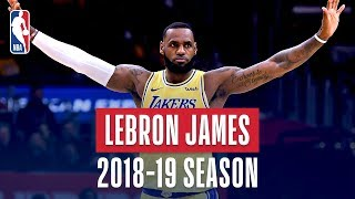 Download LeBron James' Best Plays From the 2018-19 NBA Regular Season Mp3 and Videos