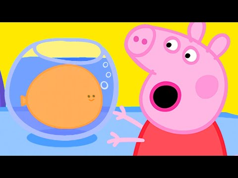 Peppa Pig Official Channel | Peppa Pig's Goldie the Fish Becomes Gigantic!