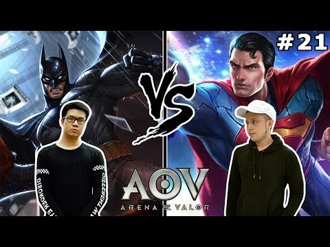Batman V Superman! Musuh atau Kawan?! - Arena of Valor (w/ PokoPow) [INDONESIA]