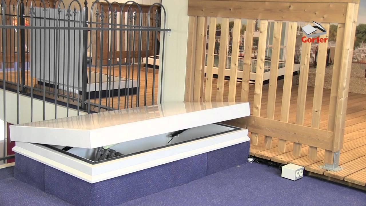 trappes de toit gorter toutes les options youtube. Black Bedroom Furniture Sets. Home Design Ideas