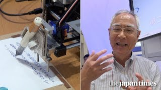 YouTube動画:Introducing Pendroid: A Japanese robot who writes business letters with a pen