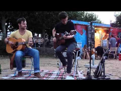 """J. Stone / Auftritt am """"Bauwagen"""" in Mainz beim Nach-Mini-Festival"""