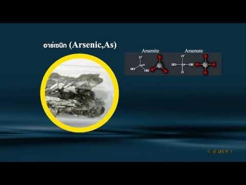 วิชาเคมี - สมบัติของธาตุกึ่งโลหะและสารประกอบ
