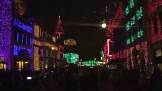 Disney's Osborne Family Spectacle of Dancing Lights January 1st 2015 Hollywood Studios