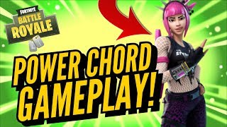 POWER CHORD Skin Gameplay! In Fortnite Battle Royale