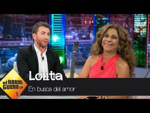 """Lolita, en 'El Hormiguero 3.0': """"Estoy soltera, pero estoy abierta al amor"""" - El Hormiguero 3.0"""
