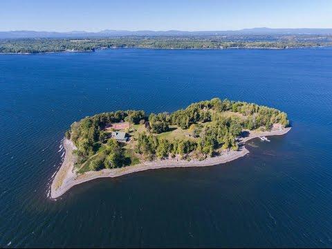 Cedar Island // Lake Champlain, VT