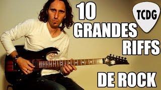 Baixar 10 Grandes Riffs de Rock en Guitarra Eléctrica #1 TCDG
