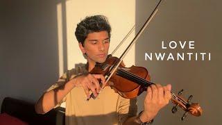 love nwantiti - dramatic violin cover - joel sunny