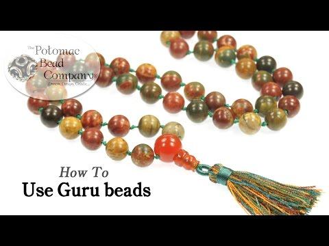 How to Use Guru Beads to make Malas