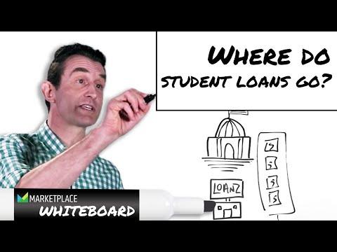 Where do student loans go?