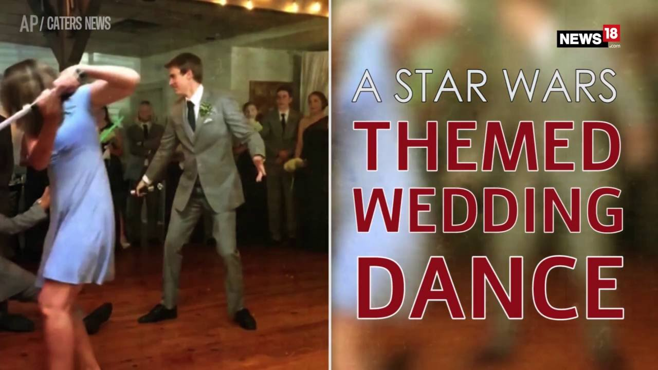 This Wedding Dance To Star Wars Theme Song Is Epic Youtube