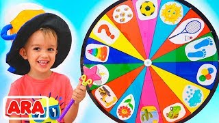 Download يلعب الأطفال المرحون في العجلة السحرية  مقاطع فيديو لكل من فلاد و نيكيتا Mp3 and Videos