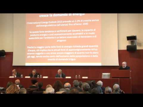 """Renzo Rosso at the International Conference on """"Water and Development"""""""