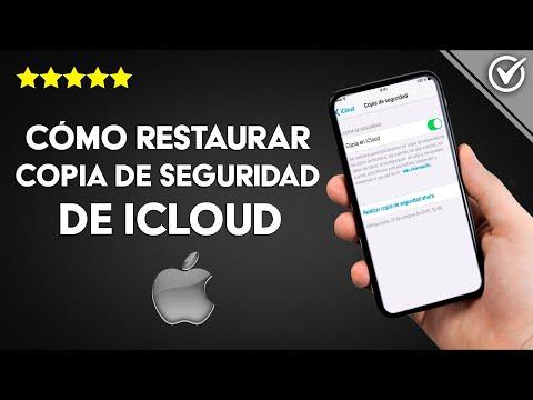 Cómo Restaurar una Copia de Seguridad de iCloud en mi iPhone, iPad e iPod Touch